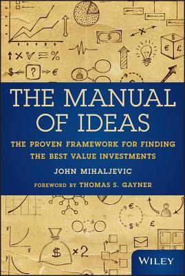 Manual of Ideas By Mihaljevic, John